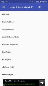 Lagu Anak Islami Offline apk screenshot