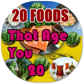 20 Foods That Age You 20 Years icon