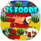 25 Foods People Over 45 Should Eat icon