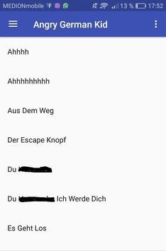 Angry German Kid Soundboard poster
