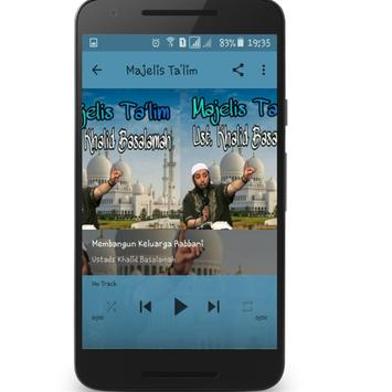 Majelis Ta'lim Ust. Khalid Basalamah apk screenshot