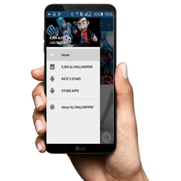 Ejen Ali Wallpaper Superhero poster