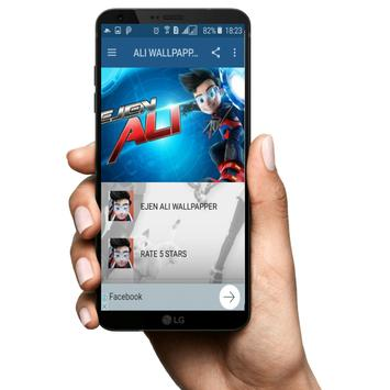 Ejen Ali Wallpaper Superhero screenshot 1