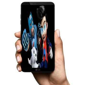 Ejen Ali Wallpaper Superhero screenshot 2