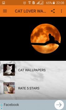 Cat Lover Wallpapers screenshot 1