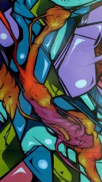 Graffiti Wallpaper Art poster