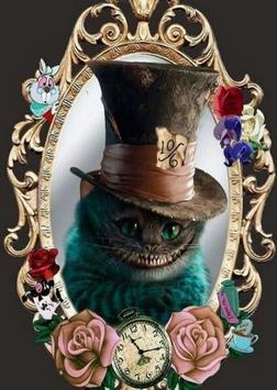 Cheshire Cat Wallpaper screenshot 1