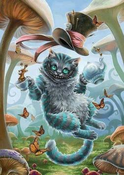 Cheshire Cat Wallpaper screenshot 7