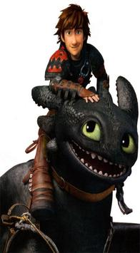 Toothless The dragon Wallpaper poster