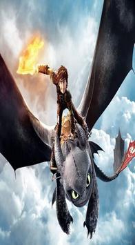 Toothless The dragon Wallpaper screenshot 1