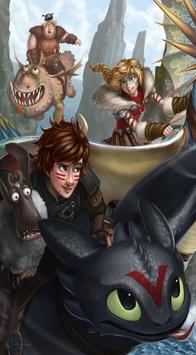Toothless The dragon Wallpaper screenshot 2
