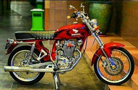 Modifikasi Honda CB poster
