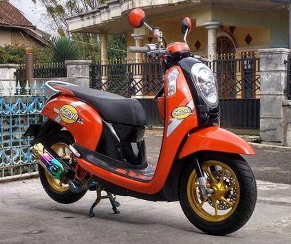 Modifikasi Honda Scoopy screenshot 3