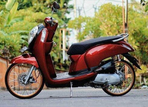 Modifikasi Honda Scoopy poster