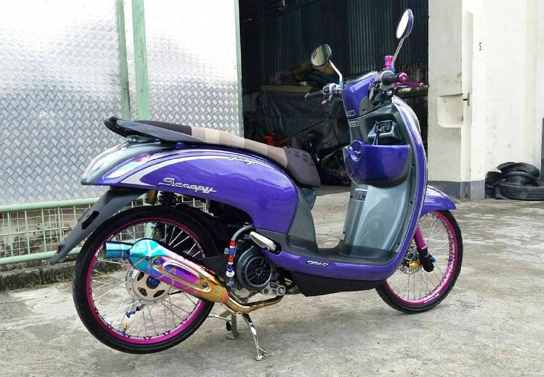 Scoopy 2010 modif