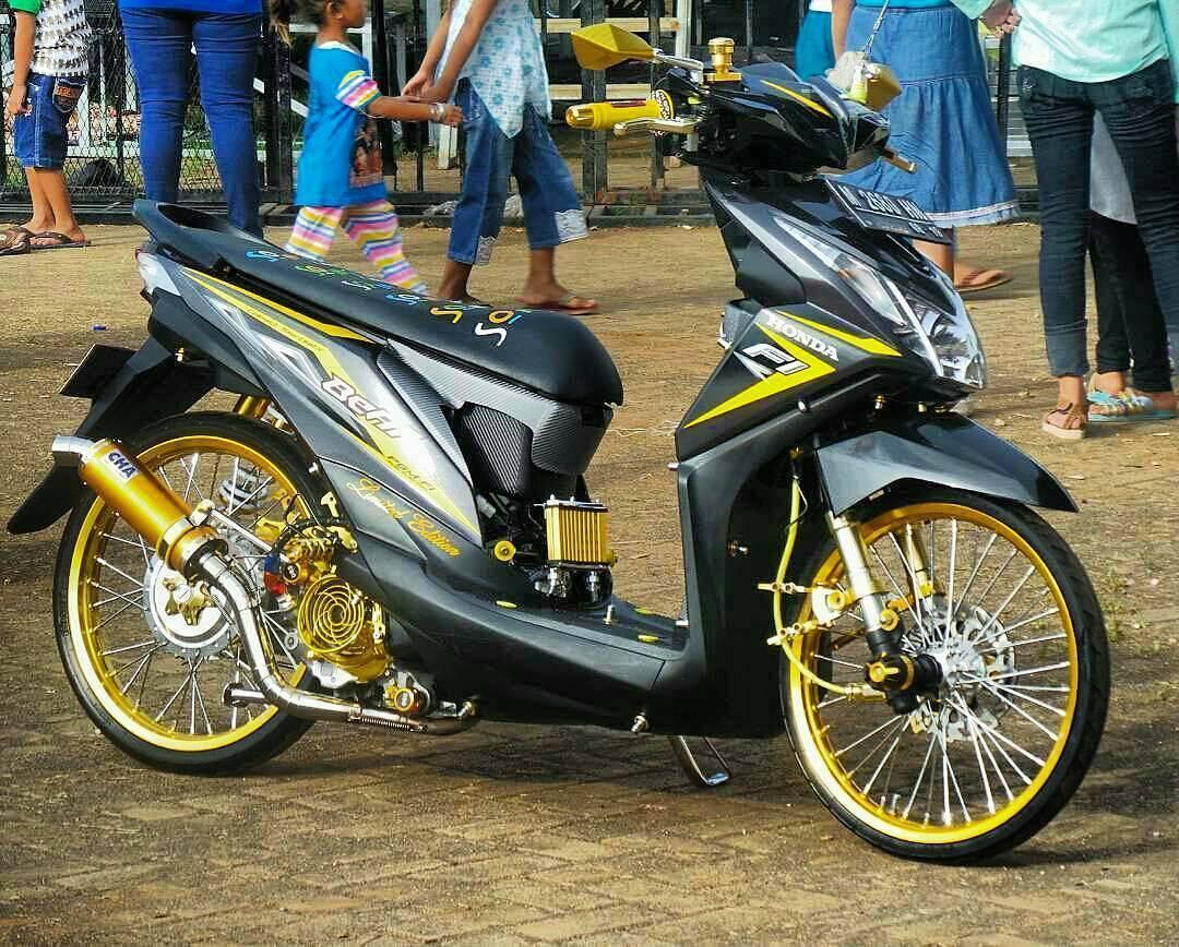 Puguh Rizki Deny Wahyu Modifikasi Motor Beat
