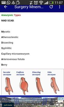 Surgery Mnemonics screenshot 9