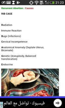 Obstetrics & Gynecology Mnemonics screenshot 1