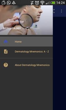 Dermatology Mnemonics poster