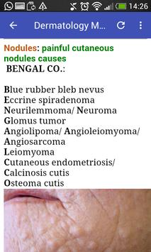 Dermatology Mnemonics screenshot 12