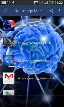 Neurology Mnemonics screenshot 1