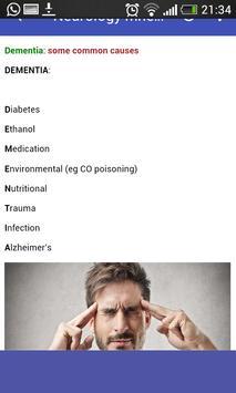 Neurology Mnemonics screenshot 4