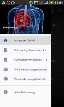 Pulmonology Mnemonics poster