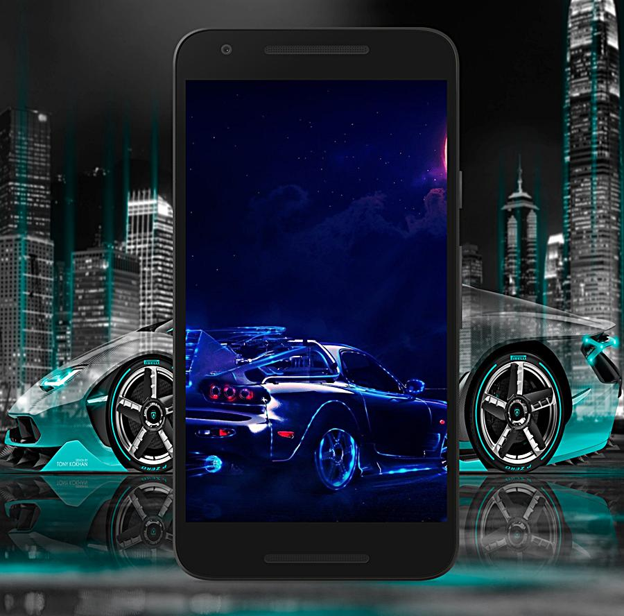 Neon Cars Wallpaper For Android Apk Download