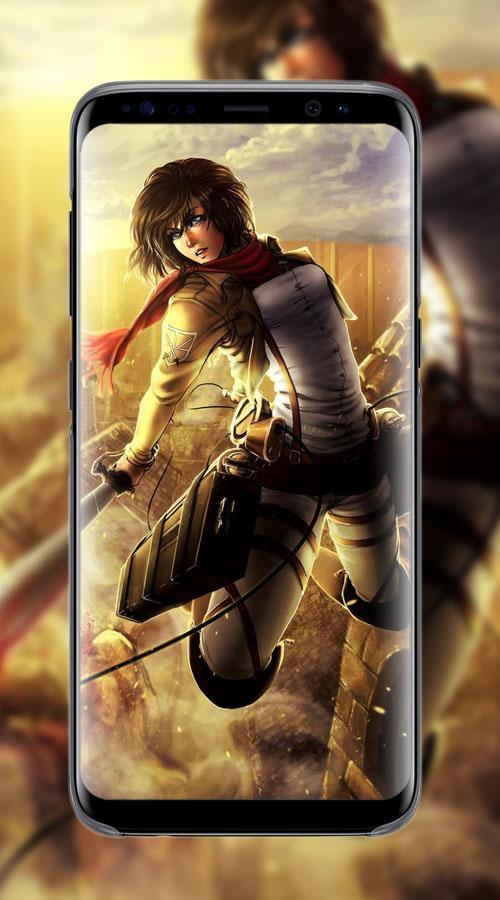 Mikasa Ackerman Wallpaper For Android Apk Download