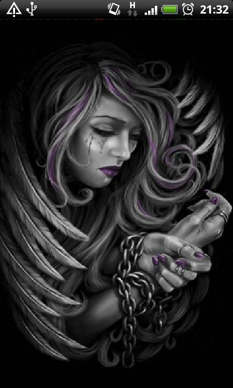 New Gothic Angel Wallpaper Hd For Android Apk Download