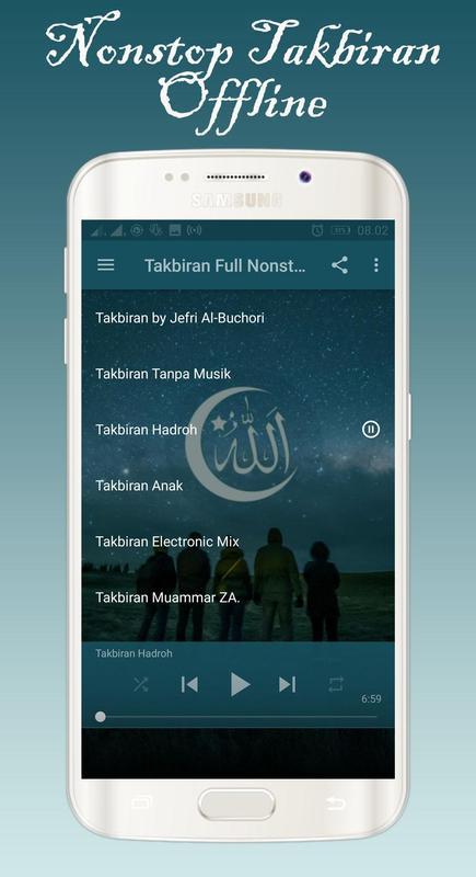 Eid mubarak mp3 song takber offline for android apk download.