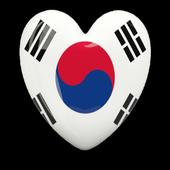 South Korea national anthem icon