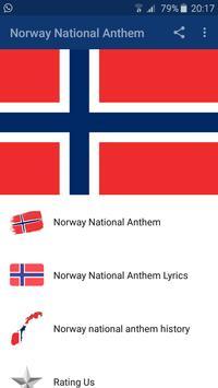 Norway National Anthem poster