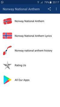 Norway National Anthem screenshot 1