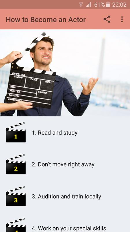 Cómo convertirse en actor for Android - APK Download