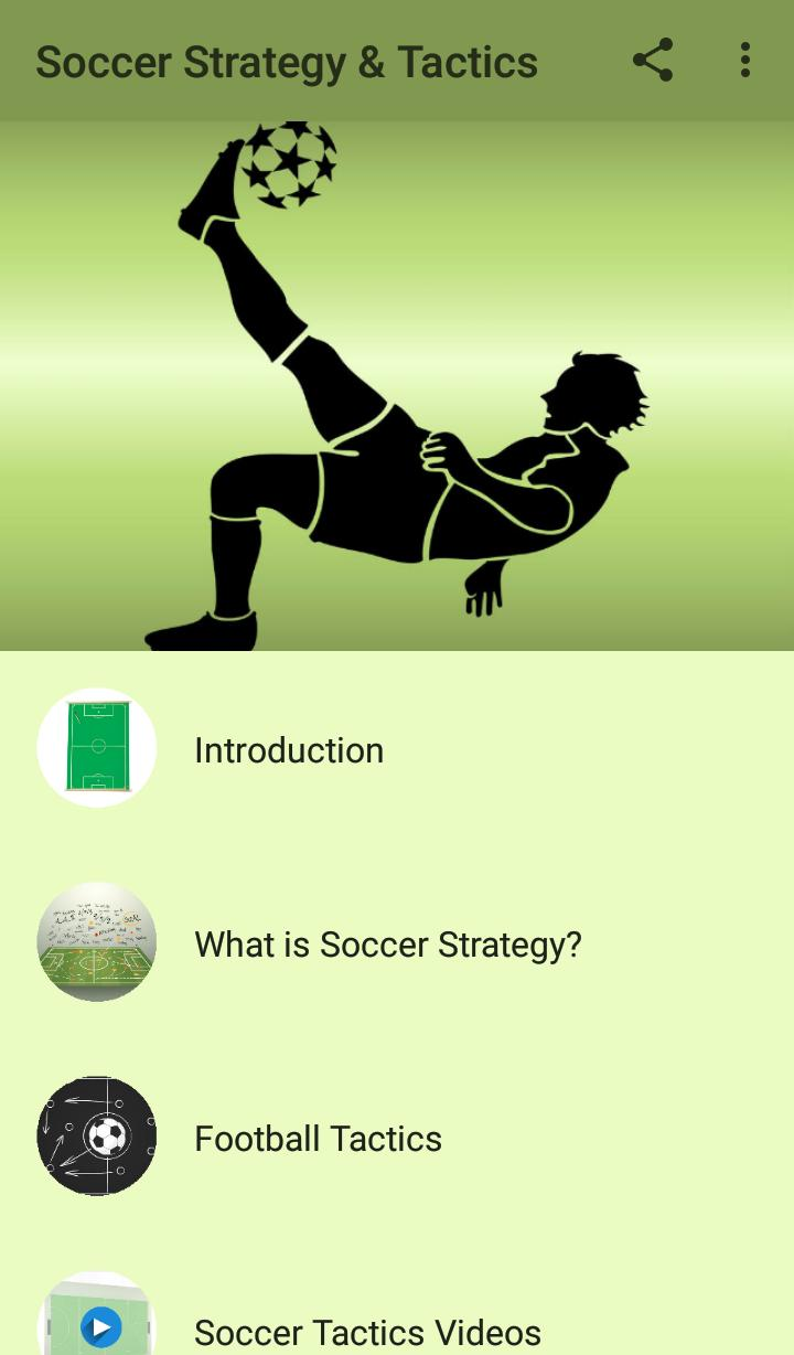 Soccer Strategy & Tactics poster