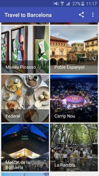 Travel to Barcelona screenshot 1