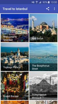 Travel to Istanbul poster