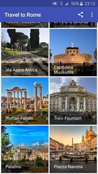 Travel to Rome screenshot 1