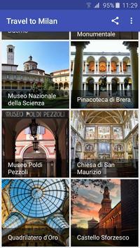 Travel to Milan screenshot 3
