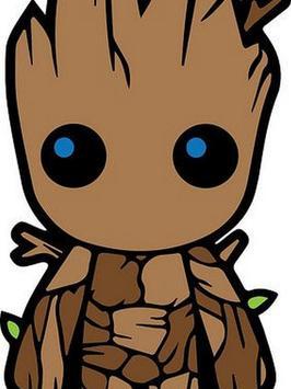 Baby Groot Wallpaper poster