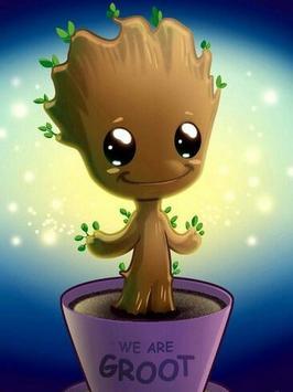 Baby Groot Wallpaper screenshot 1