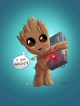 Baby Groot Wallpaper screenshot 2