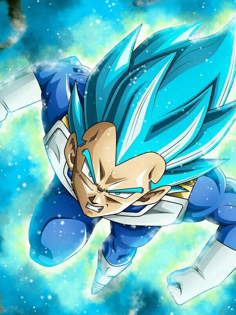 Vegeta Super Saiyan God Blue Wallpapers For Android Apk