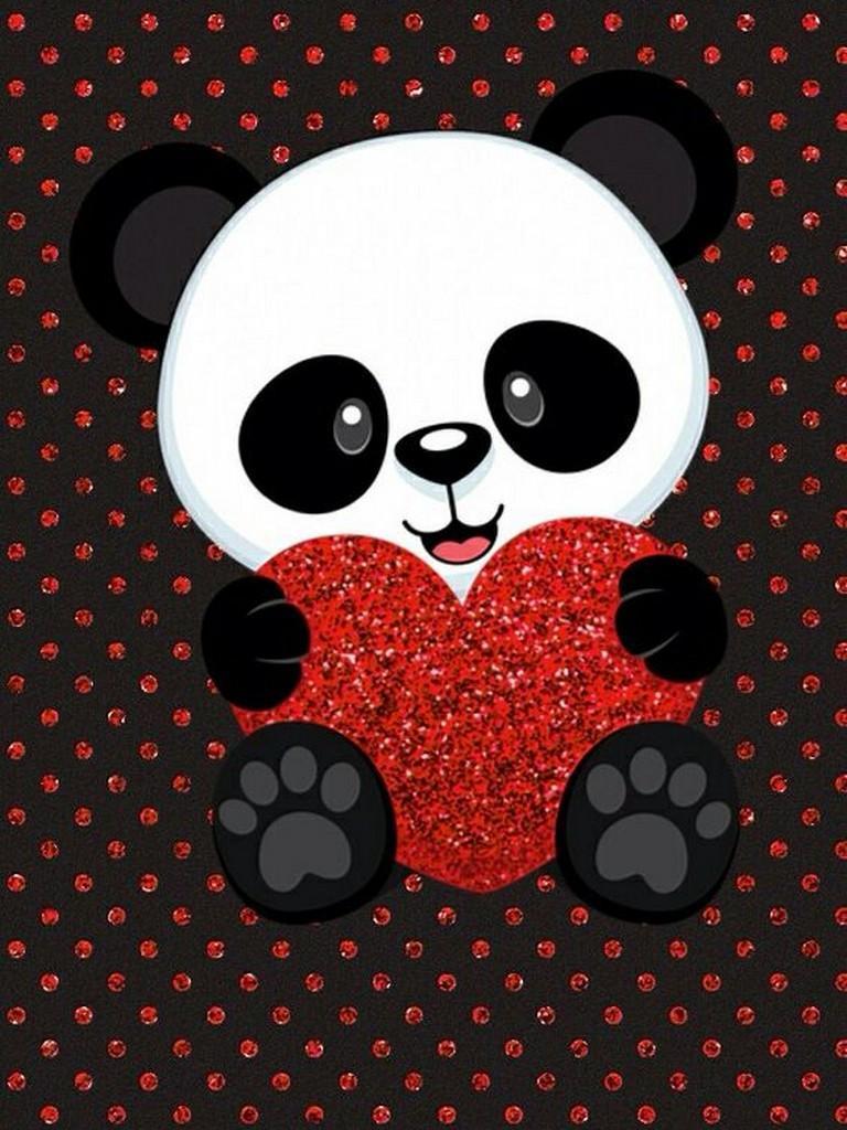 ... Cute Panda Wallpaper screenshot 3 ...