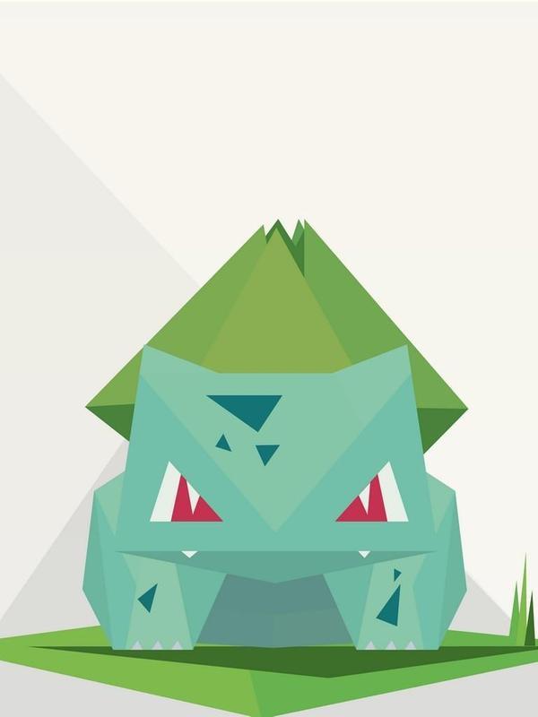 Bulbasaur Wallpaper Poster Screenshot 1 2