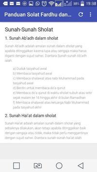 Panduan Sholat Fardhu dan Sunah Lengkap poster