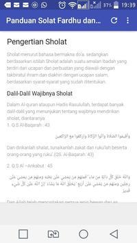Panduan Sholat Fardhu dan Sunah Lengkap screenshot 1
