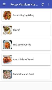 Resep Masakan Nusantara Terlengkap screenshot 3