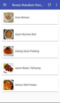 Resep Masakan Nusantara Terlengkap screenshot 1